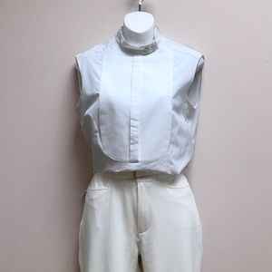Hugo Boss Runway Édition sleeveless blouse
